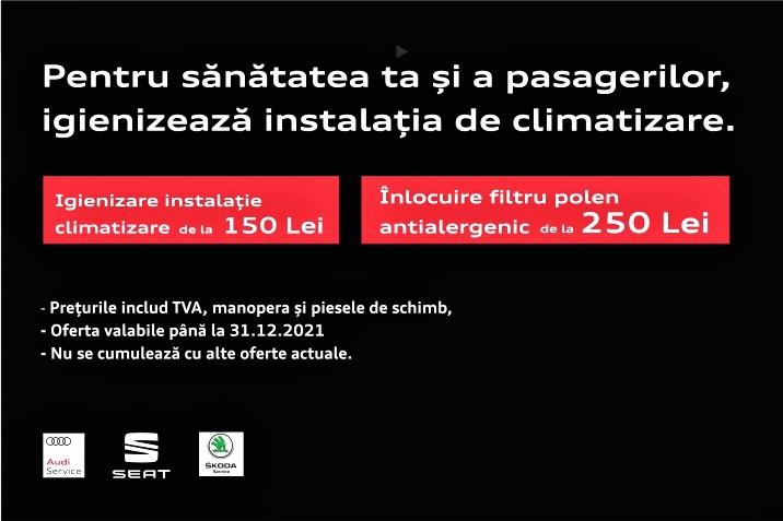 Oferta Igienizare climatizare