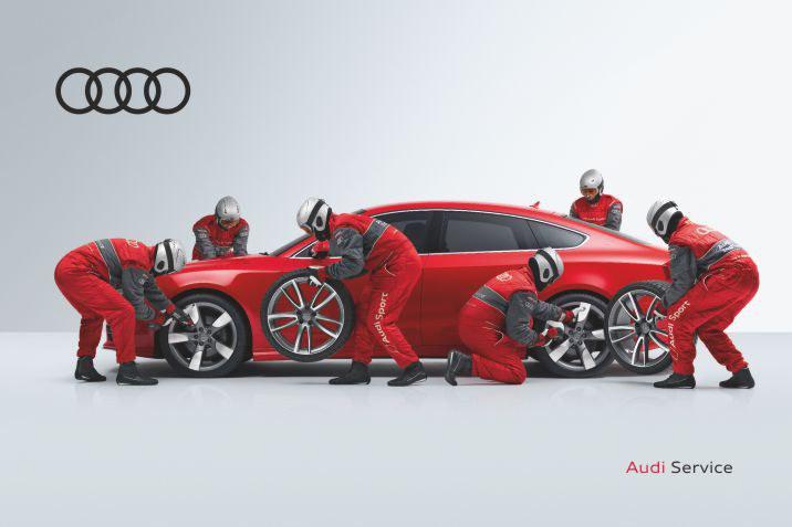 Oferta servicii Premium Audi, pentru clientii Premium.